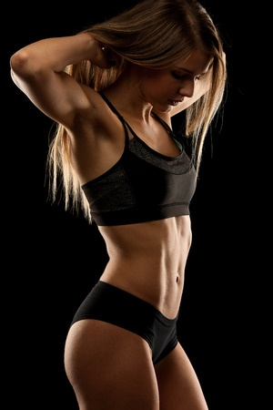 sexy and fit female