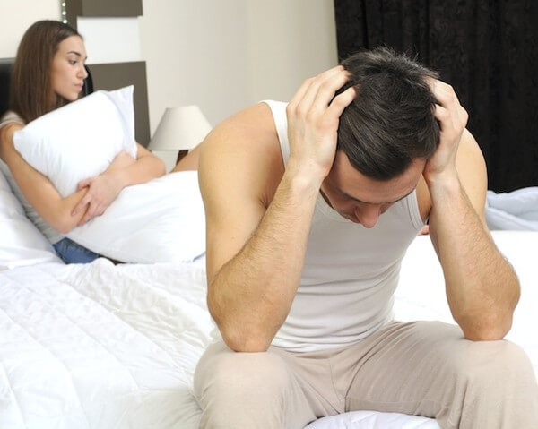 Erectile Dysfunction Causing Sexual Performance Problems For A Man