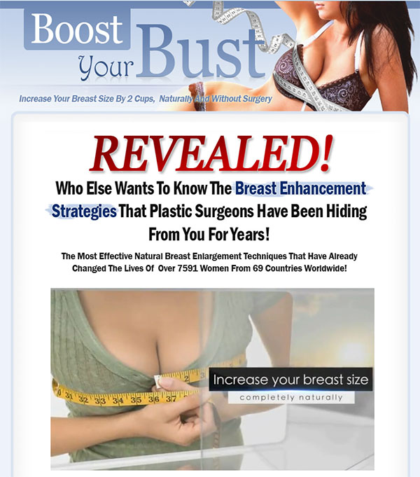 Download The Boost Your Bust PDF Ebook