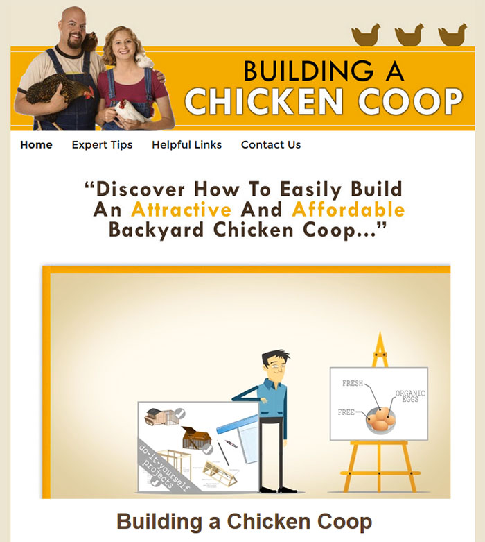Download The Building A Chicken Coop Ebook