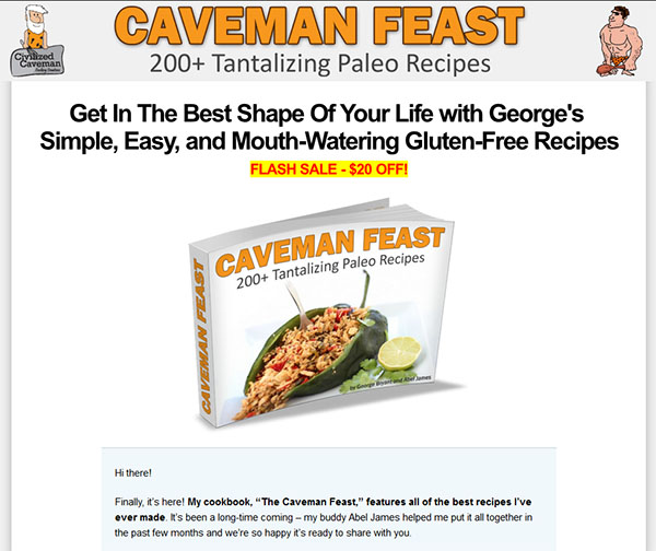 Download The Caveman Feast PDF Ebook