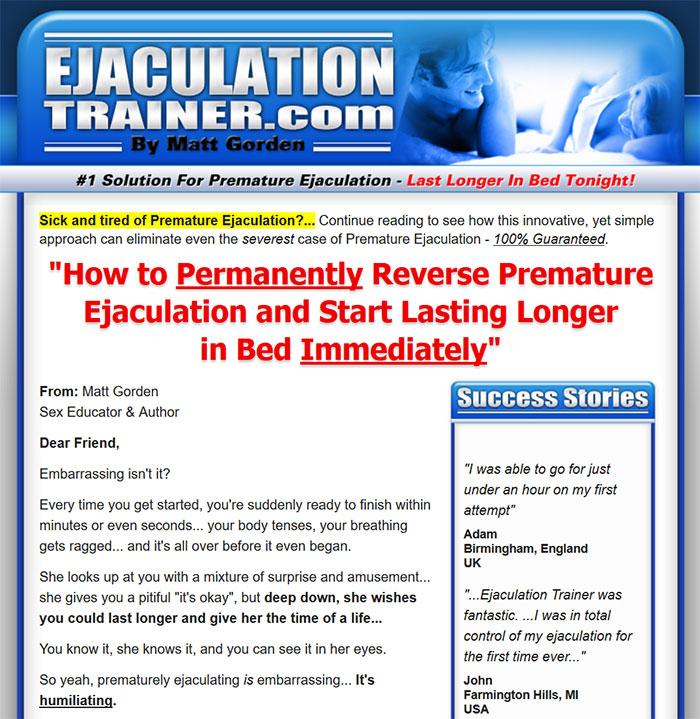 Download The Ejaculation Trainer PDF Ebook