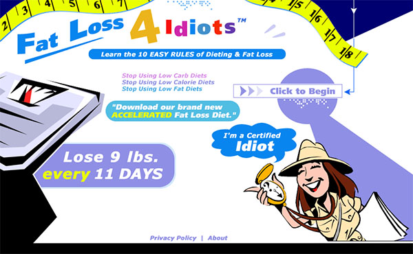 Download The Fat Loss 4 Idiots PDF Ebook