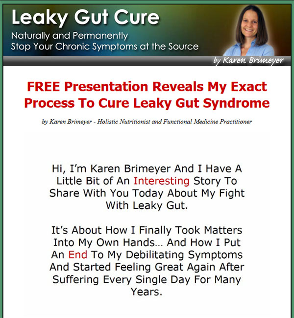 Download The Leaky Gut Cure PDF Ebook