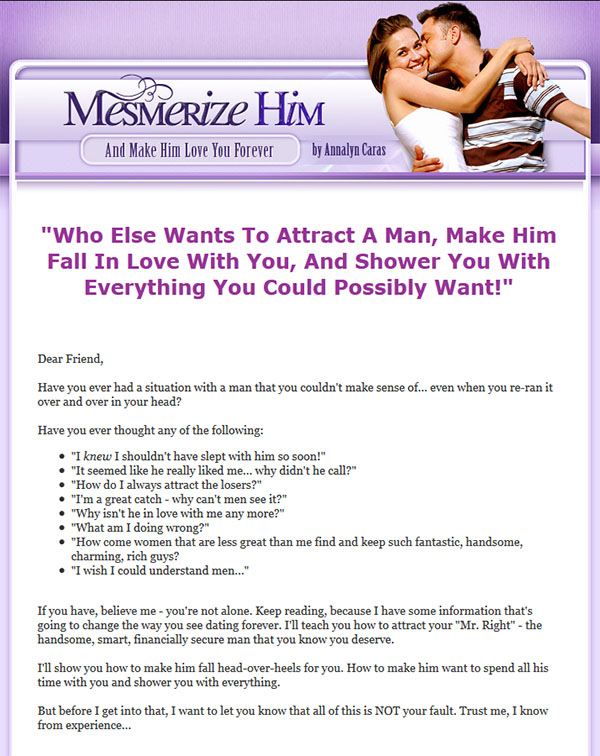 Download The Mesmerize Him PDF Ebook