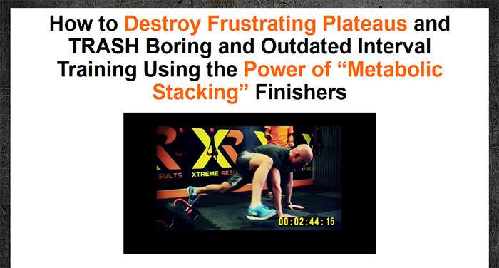 Download The Metabolic Stacking Finishers PDF Ebook