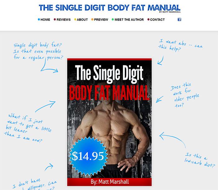 Download The Single Digit Body Fat Manual PDF Ebook