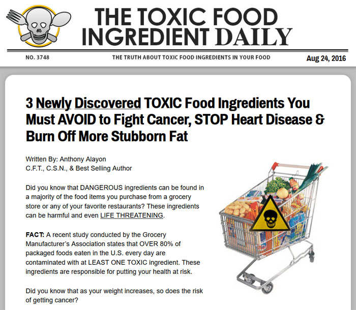 Download The Truth About Food Ingredients PDF Ebook
