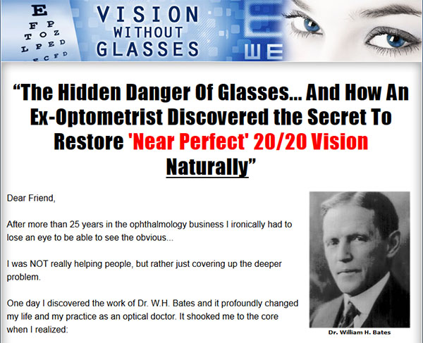 Download Vision Without Glasses By Duke Peterson (Review ...