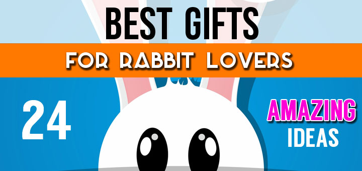 Best Gifts For Rabbit Lovers - 24 Unique Gift Ideas For Bunny Lovers & Owners