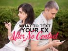 Five types of text messages you should text your ex after no contact.