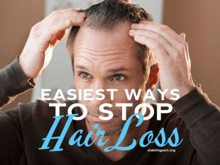 Science shows these are the easiest ways to stop hair loss and regrow hair.
