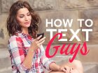 Use these tips to text guys and keep them interested without being annoying.